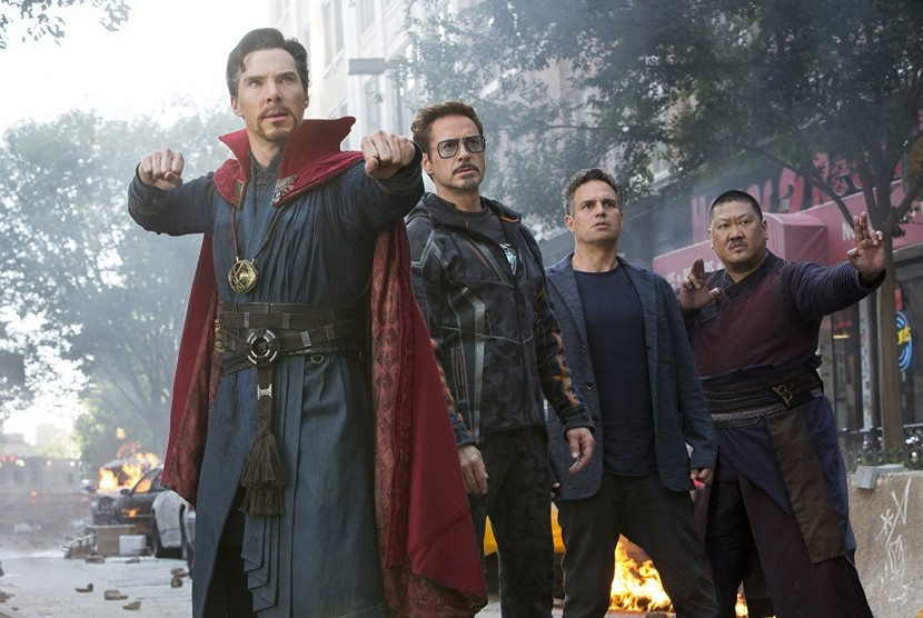 Film Avengers: Infinity War.