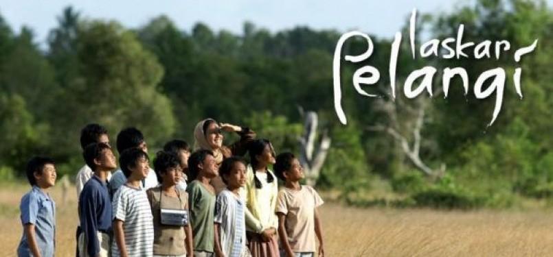 Film Laskar Pelangi, salah satu film berkualitas di Indonesia.