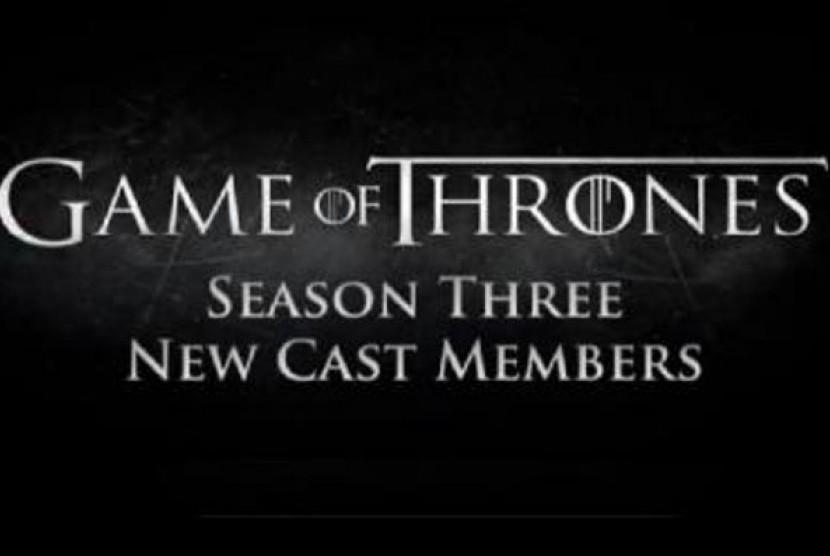 Film seri, Game of Thrones, Season 3.