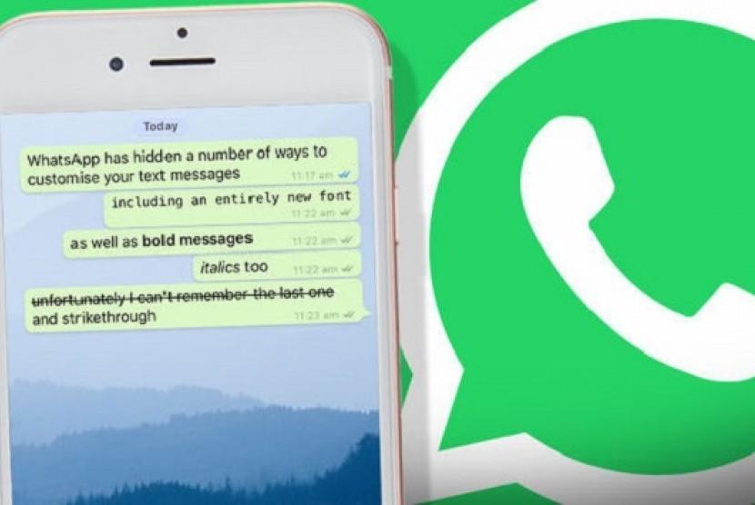 Fixedsys di Whatsapp