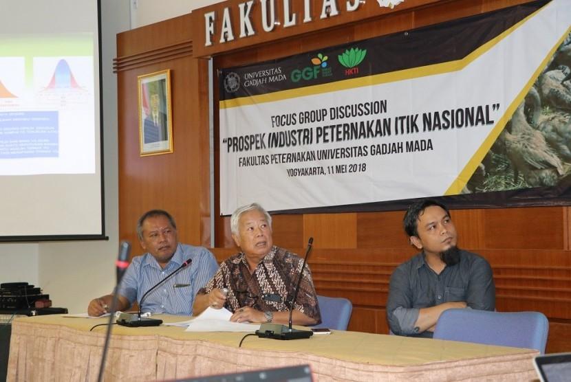 Forum Group Discussion yang digelar Fakultas Peternakan Universitas Gadjah Mada (UGM).