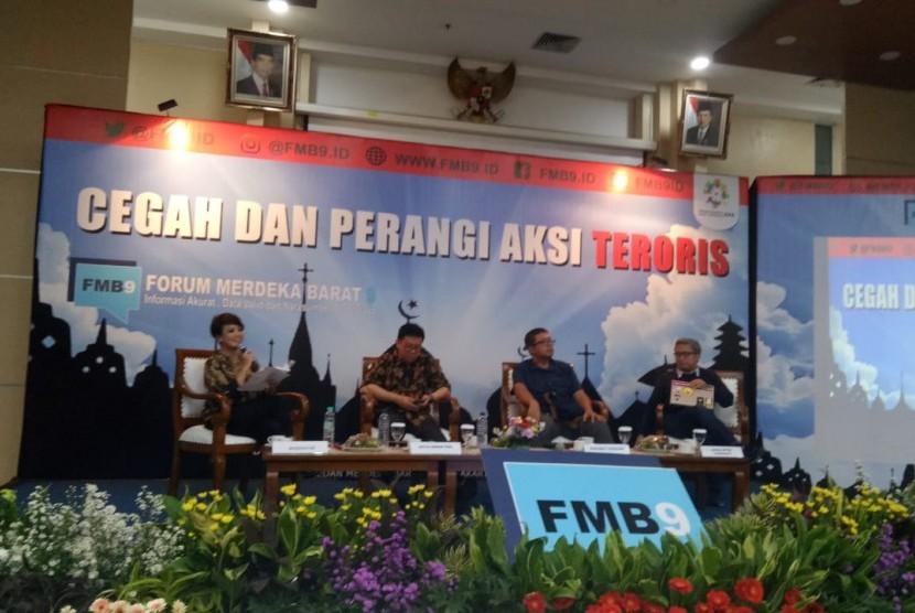 Forum Merdeka Barat (FMB) 9 menggelar diskusi bertema
