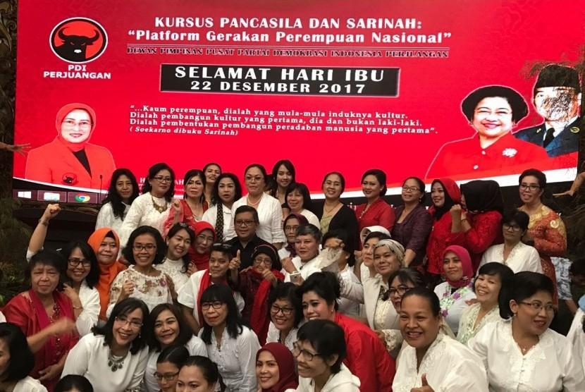 PDIP: 22 Desember Hari Perjuangan Perempuan Indonesia