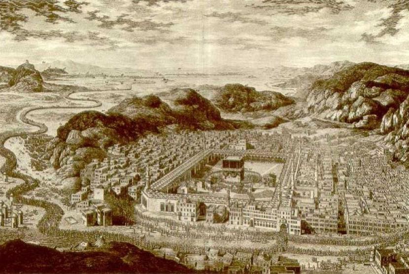 Foto Makkah 1850