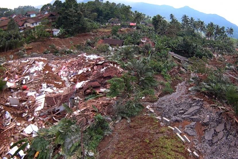Bencana di Banjarnegara Didominasi Longsor