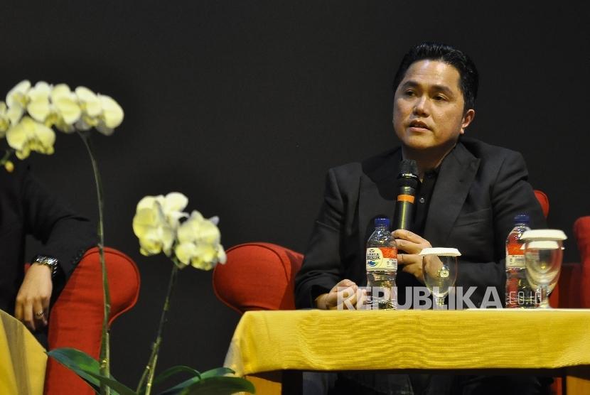 Ketua Umum Komite Olimpiade Indonesia (KOI) Erick Thohir.