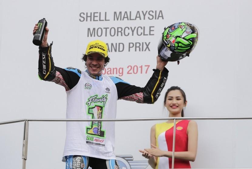 Rossi Bangga Anak Asuhnya Mentas di MotoGP Musim Depan