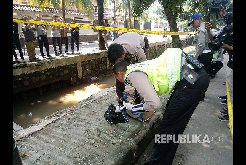 Ini Hasil Olah TKP Kecelakaan Setnov dari Polda Metro Jaya