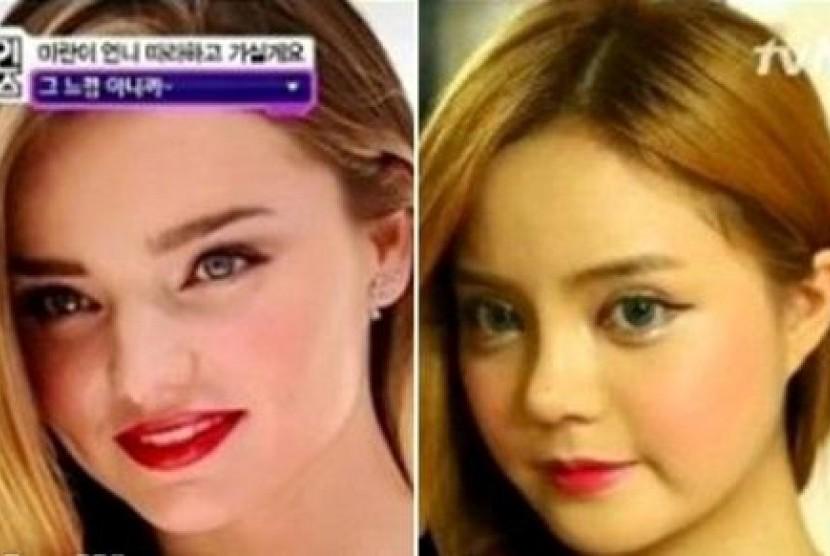 Gadis Korea minta operasi plastik seperti Miranda Kerr