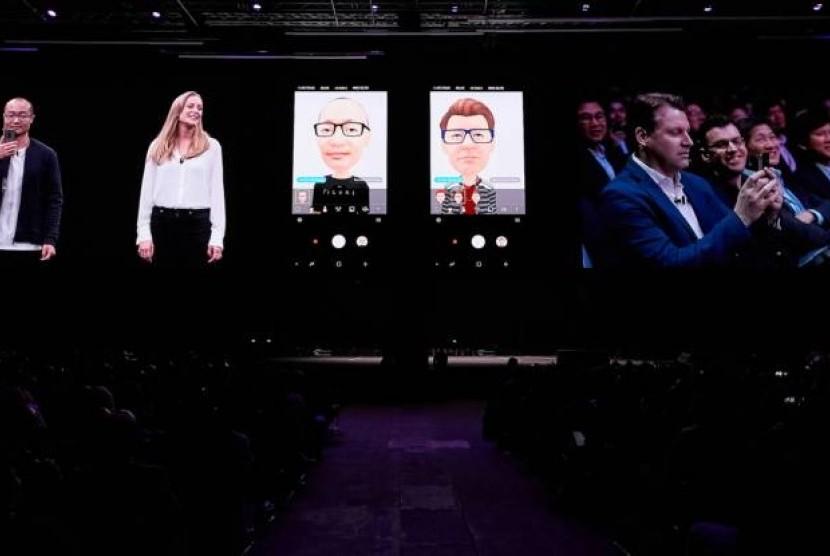 Galaxy S9 AR Emoji tidak Menyalin Animoji Apple