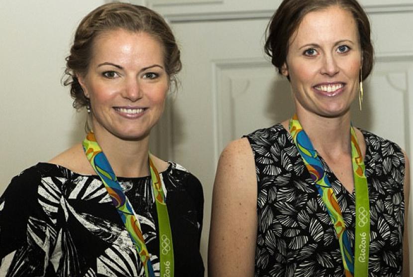 Ganda putri dunia asal Denmark, Christinna Pedersen/Kamilla Rytther Juhl
