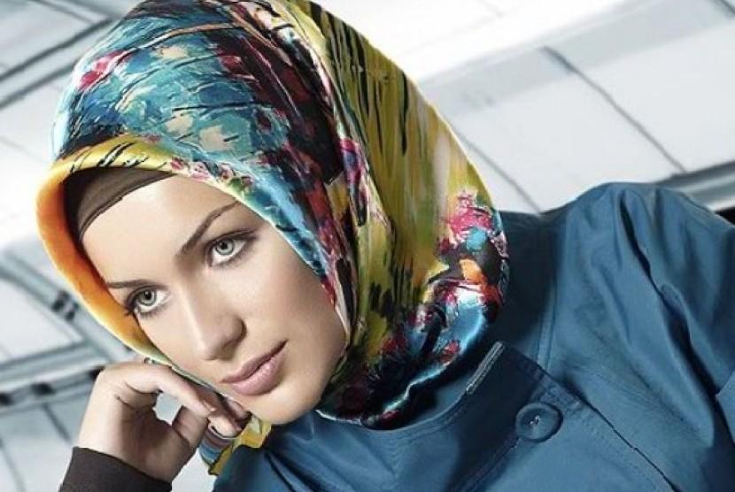 Gaya hijab cantik