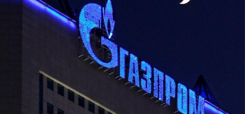 Gazprom perusahaan gas negara Rusia (Ilustrasi)