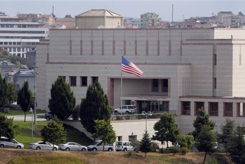 Gedung Konsulat Amerika Serikat di Istanbul, Turki.