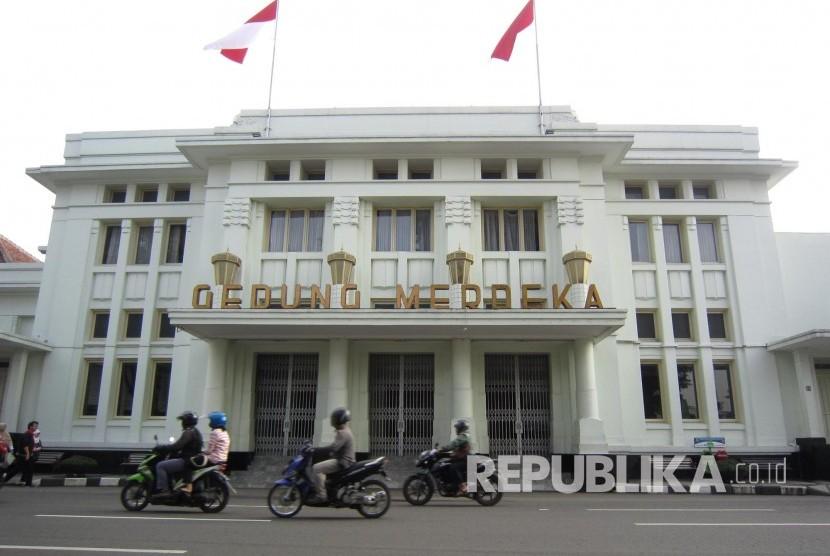 Gedung Merdeka, Jl Asia Afrika, Kota Bandung. Kota Bandung pada awal November nanti akan disemarakan dengan Munas FLP (Ilustrasi)