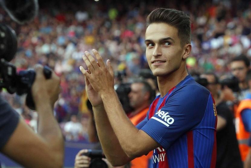 Gelandang Barcelona, Denis Suarez.