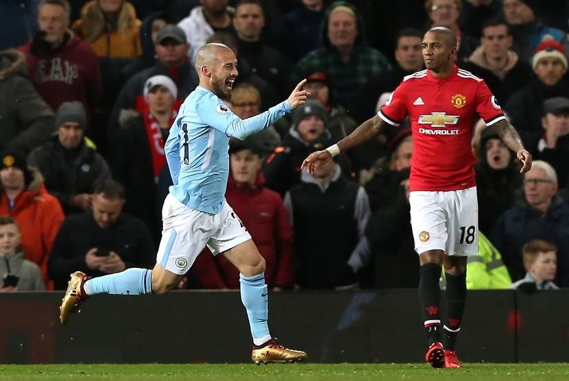 City Kandaskan MU 2-1 di Derby Manchester