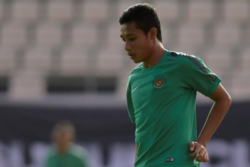 Evan Dimas Darmono masuk seleksi pemain timnas Indonesia proyeksi SEA Games 2017.