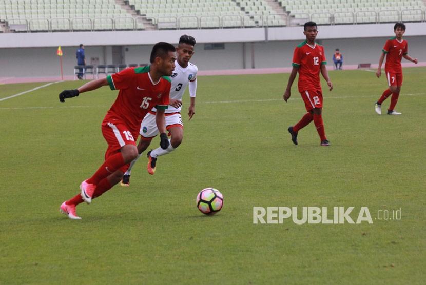 Saddil Bersyukur Jadi Pembuka Skor Kemenangan Timnas U-19