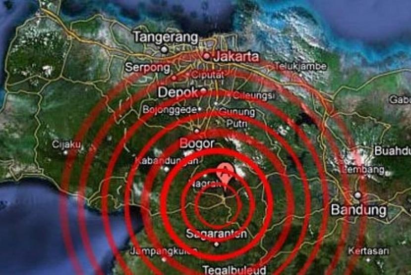 BPBD: Gempa 5,2 SR Sukabumi Dilaporkan Belum Ada Kerusakan