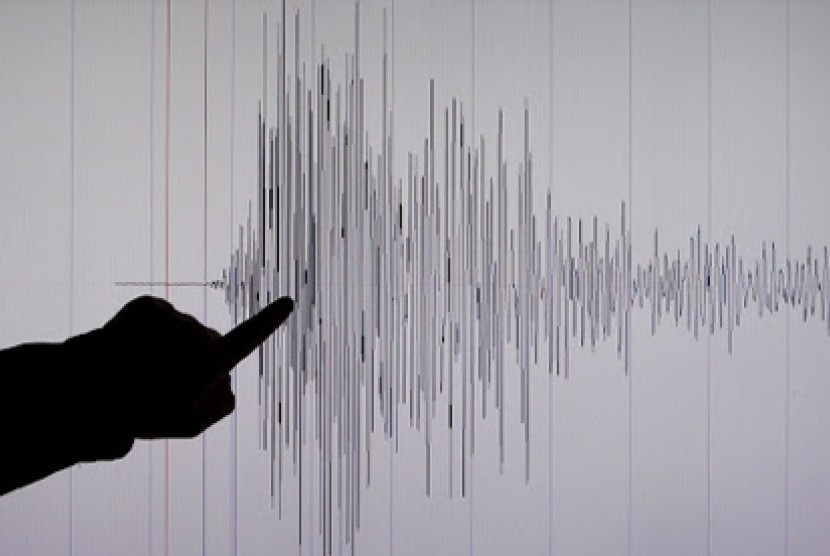 Earthquake. (Illustration)