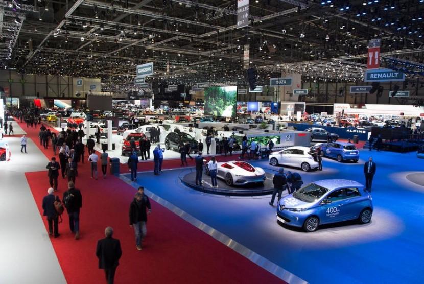 Geneva International Motor Show. Ilustrasi