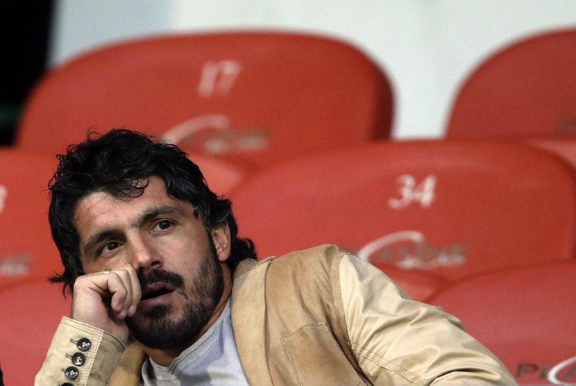Gattuso Kandidat Utama Pelatih Baru Milan