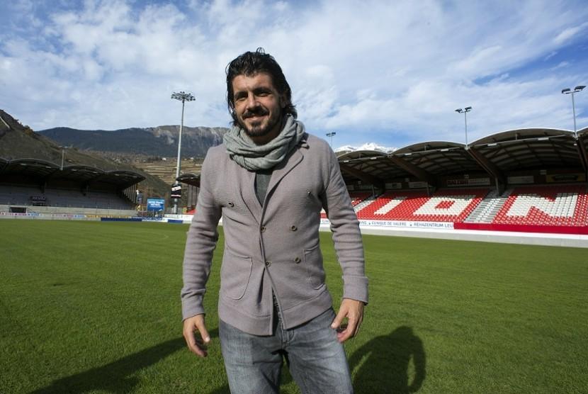 Tak Jauh Beda dari Montella, Gattuso Pakai Formasi Tiga Bek