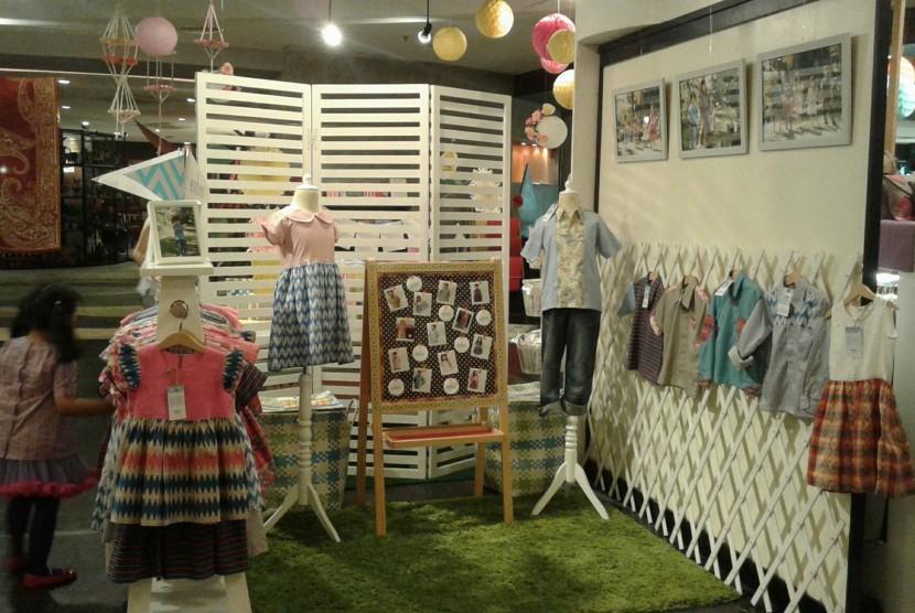 Gerai Embun Kids di bazar Canda Warna Galeri Alun-Alun Indonesia di Grand Indonesia, Jakpus.