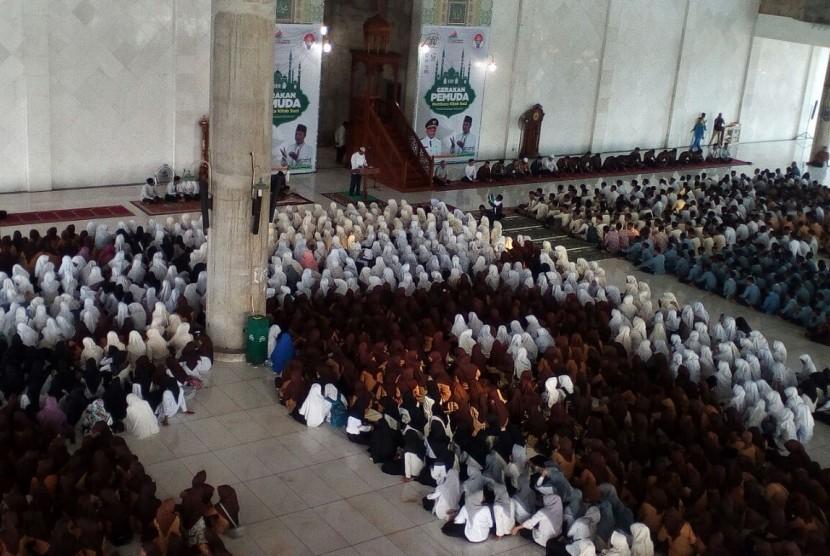 Gerakan Pemuda Membaca Kitab Suci (GMKS) di Kota Lhokseumawe, Provinsi Aceh.