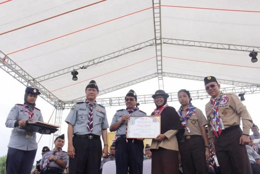 Gerakan Pramuka menjadi juara umum di ajang Jambore ke-13 Malaysia