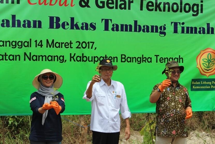Gerakan Tanam Cabai di Bangka Tengah