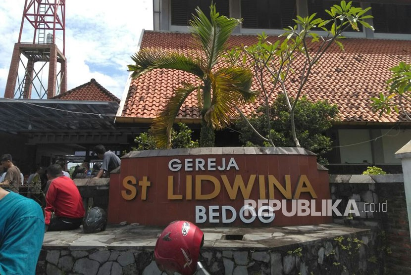 Santa Lidwina church, Padukuhan Bedog, Trihanggo village, Gamping , Sleman District, Yogyakarta.