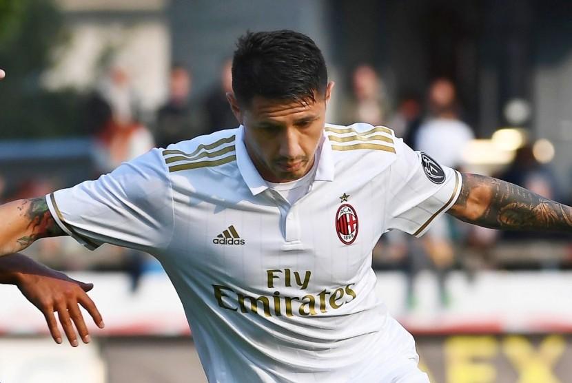 Gol Lapadula Amankan Tiga Angka untuk Milan