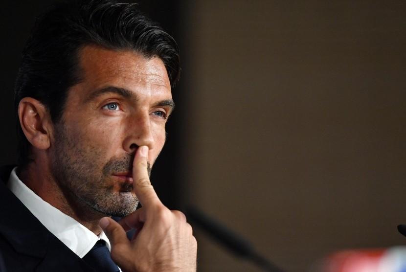 Buffon Dipastikan Absen Lawan Inter Milan