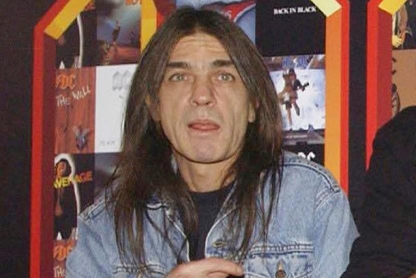 Gitaris AC/DC Malcolm Young
