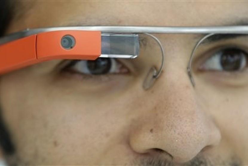 Google Glass (illustration)