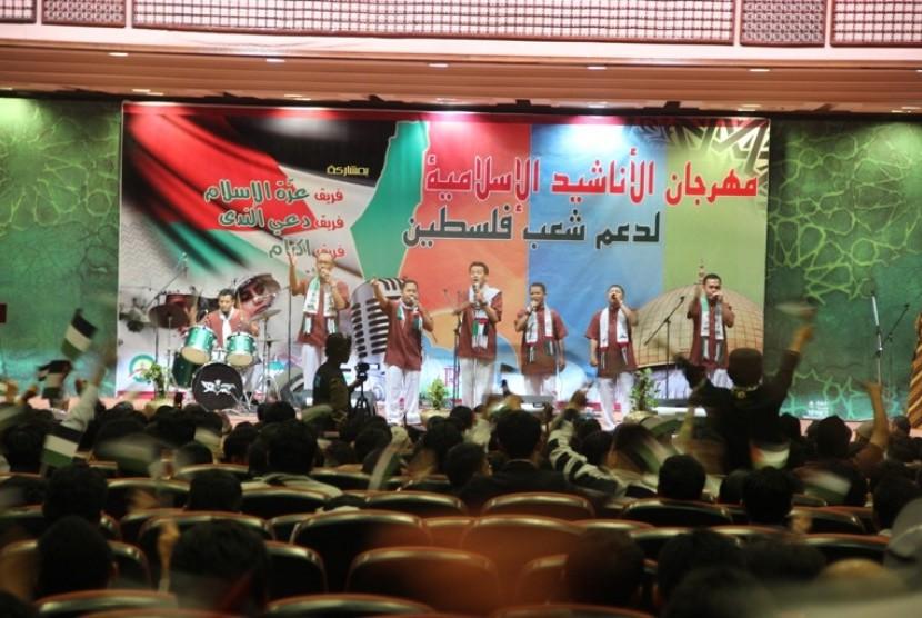 nasyid palestinian izzatul islam