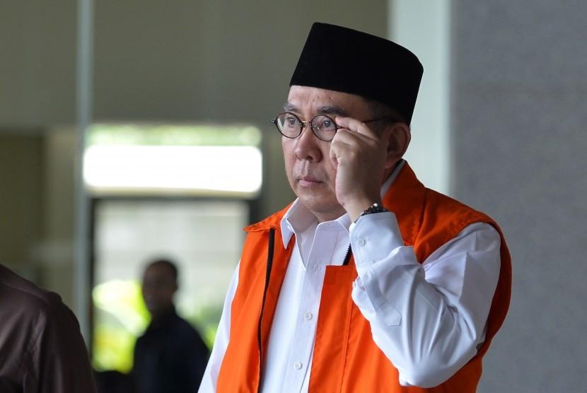 Gubernur Bengkulu nonaktif Ridwan Mukti