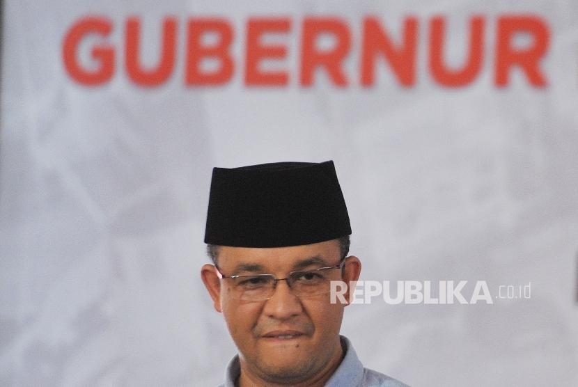 Jakarta Governor-elect Anies Baswedan