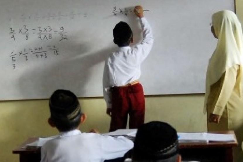 Aktivitas belajar mengajar (ilustrasi)