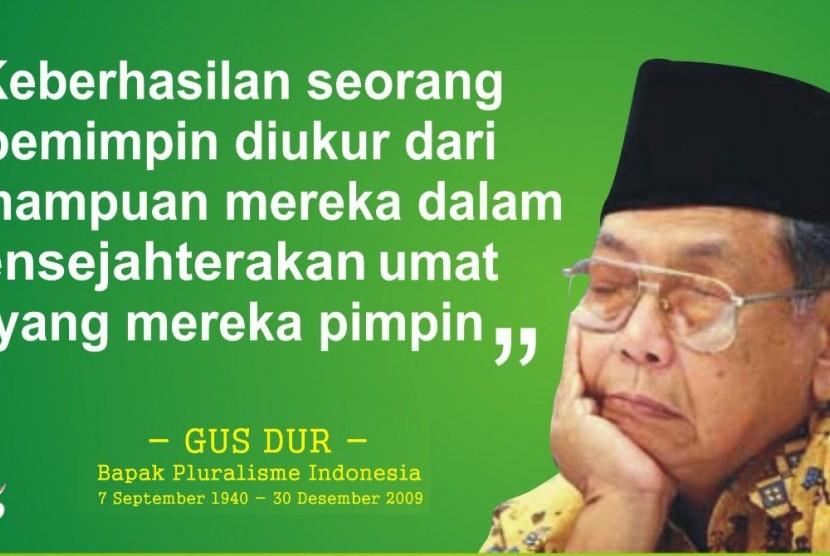 Gus Dur (KH Abdurrahman Wahid).