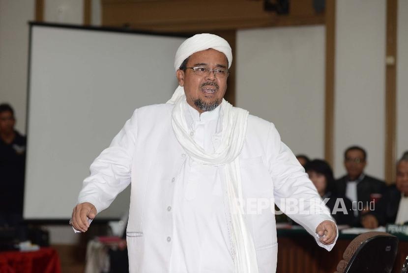 Pihak Habib Rizieq Ajukan Permohonan Penghentian Kasus