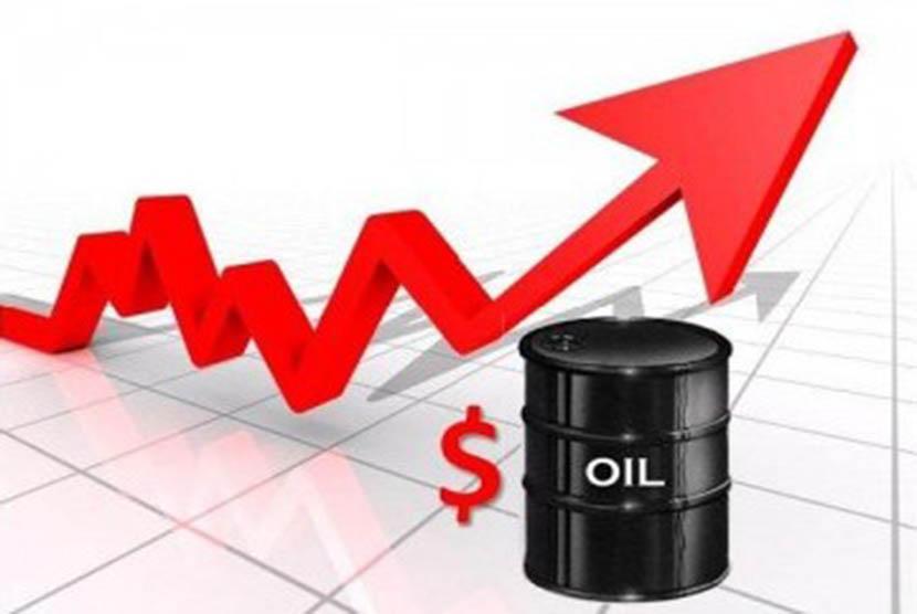 Harga minyak dunia melonjak (ilustrasi)
