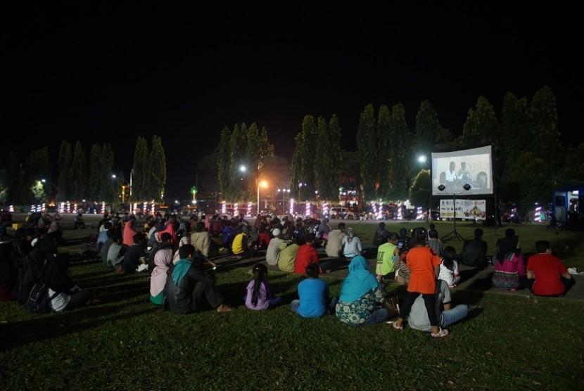 Hari Film Nasional 2017 di alun-alun Purbalingga