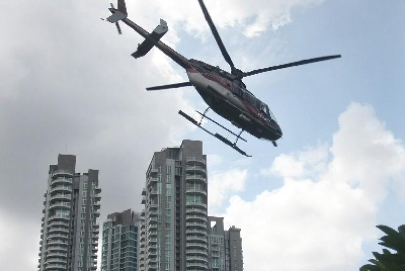 Helikopter (ilustrasi).
