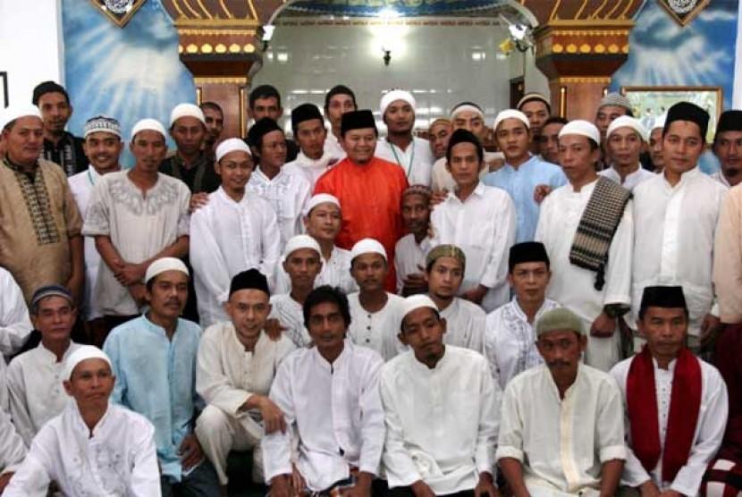 Hidayat Nur Wahid di LP Cipinang