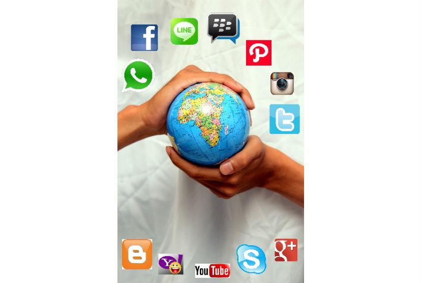 Hidup dengan media sosial tak selalu buruk, pastikan terjadi keseimbangan antara dunia nyata dan dunia online.
