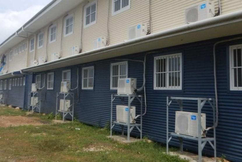 Hillside Haus, penampungan baru bagi pengungsi di Manus Island.