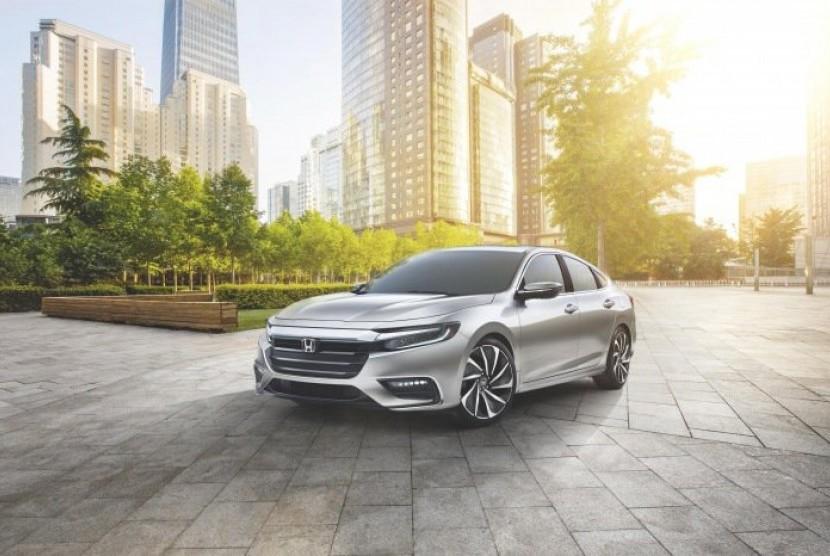 Honda Insight. Ilustrasi